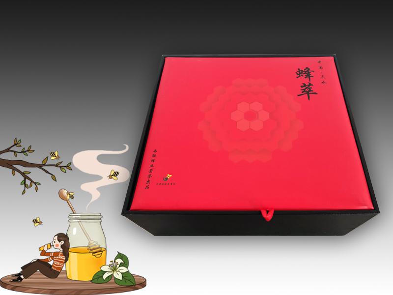 蜂萃禮盒包裝制作