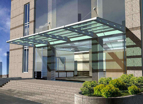 湖南玻璃雨棚