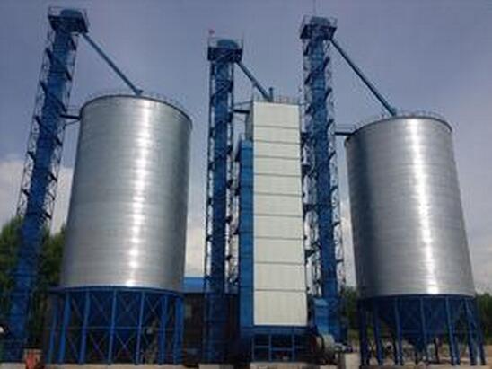 100吨玉米烘干塔