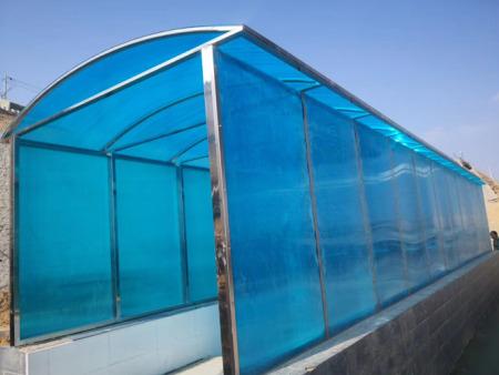 兰州玻璃雨棚施工