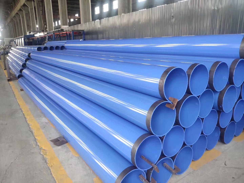 陕西426*10环氧树脂防腐螺旋钢管厂家