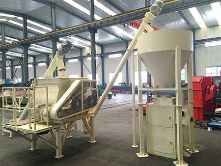 干粉砂漿設備