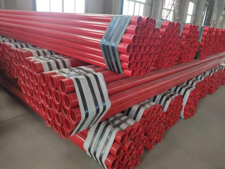浙江529*9钢塑复合衬塑防腐钢管厂家