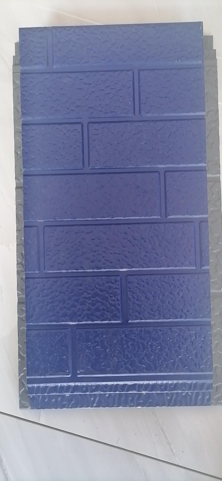 警兰七砖弹涂雕花板
