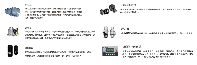 皮帶傳動螺桿式空氣壓縮機