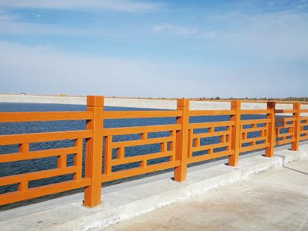 青海仿木水泥护栏
