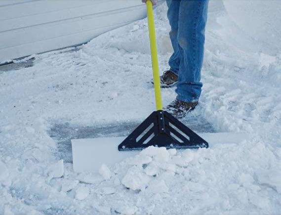 UHMW polymer snow blade