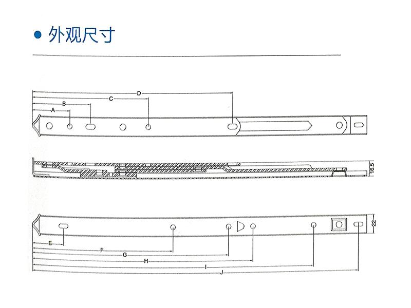 方槽重型不锈钢铰链