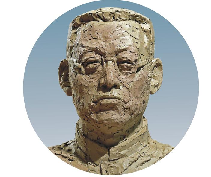 陶行知雕塑