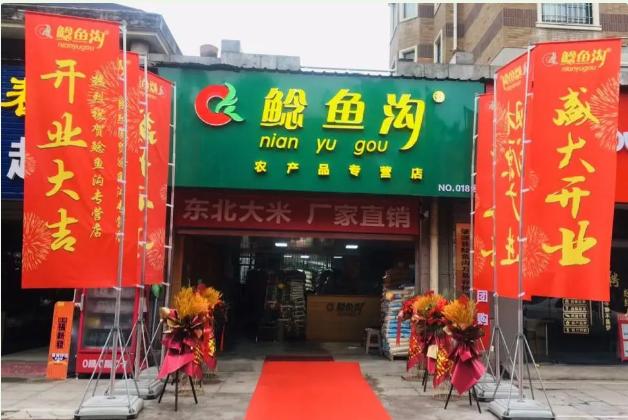 鲶鱼沟绿色专营新店,闪耀盛启两城