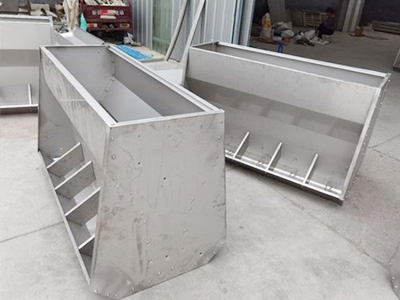 不锈钢猪食槽