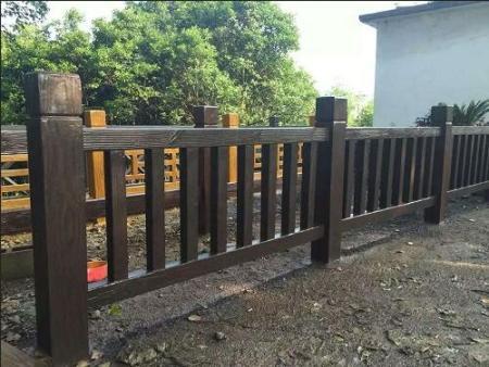 兰州仿木护栏安装