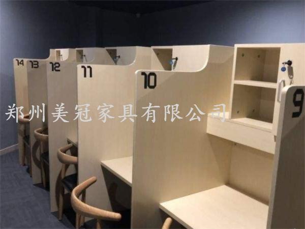 郑州共享自习室隔断桌