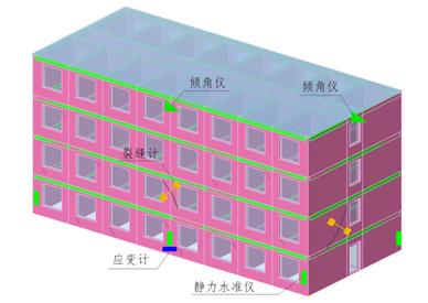 危舊房屋、古建筑在線監測系統