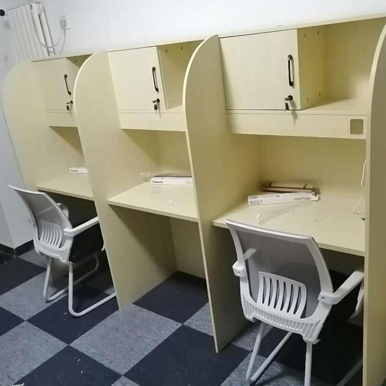 郑州带书架隔断桌