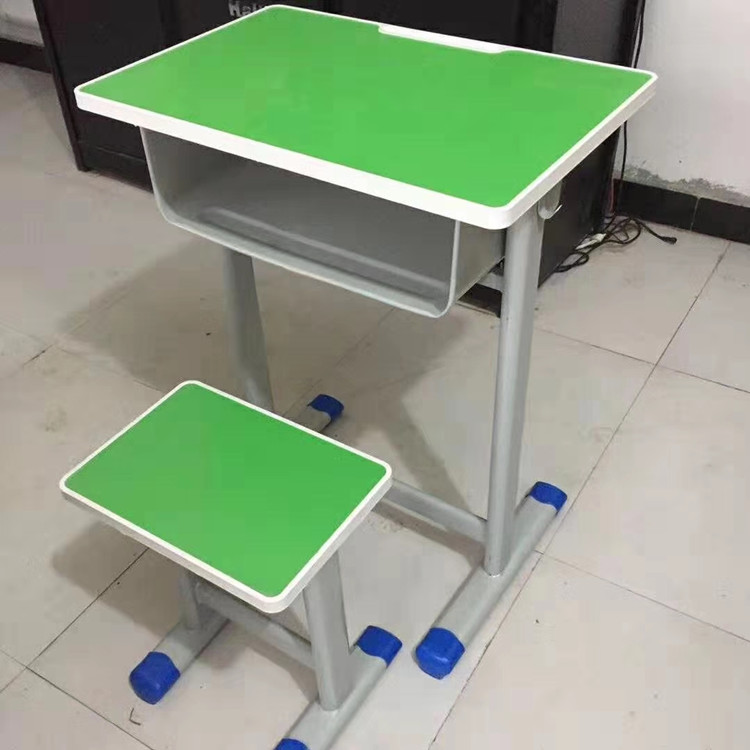 三门峡学生单人钢木课桌凳