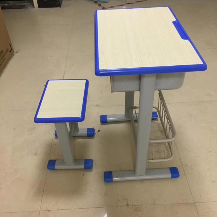 许昌学生单人钢木课桌凳
