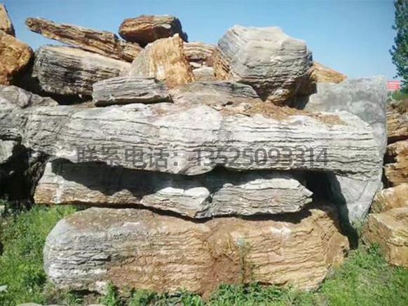 大型假山千层石
