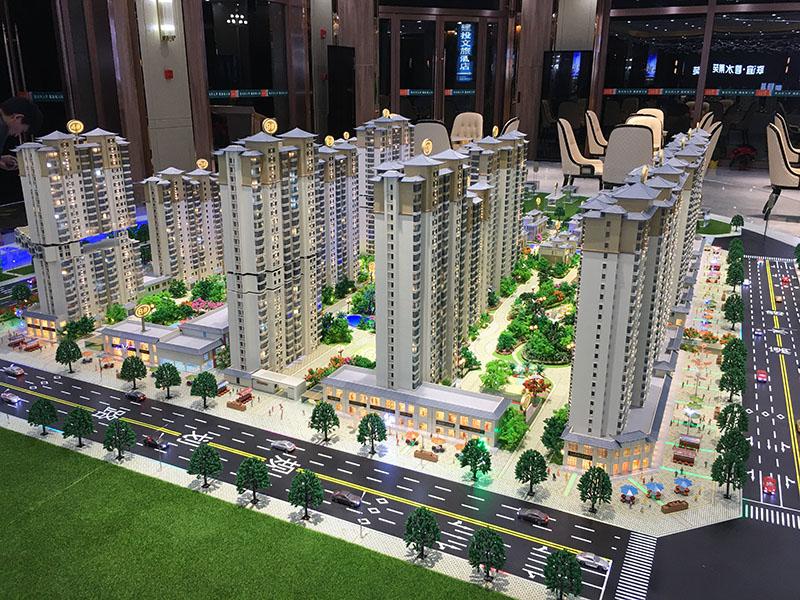 西寧沙盤建筑模型