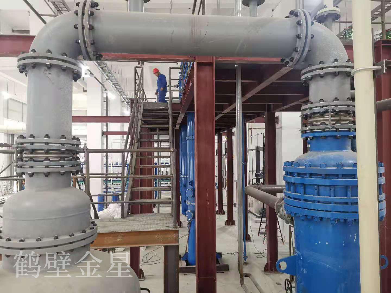 鹤壁金星新型石英玻璃硫酸回收装置