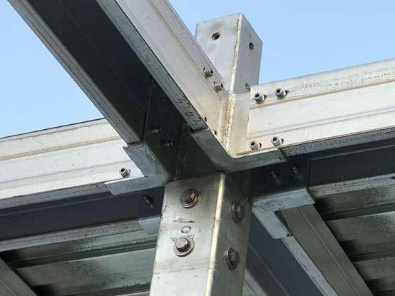 异型钢框架结构体系
