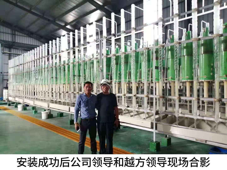 越南永康公司3万吨/年硫酸提纯项目