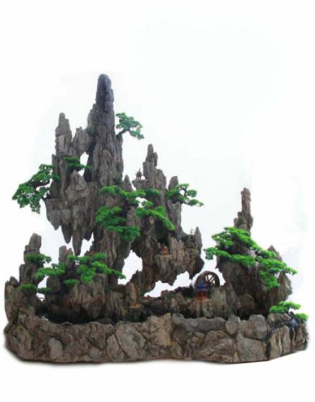 赤峰涼亭碳化木?