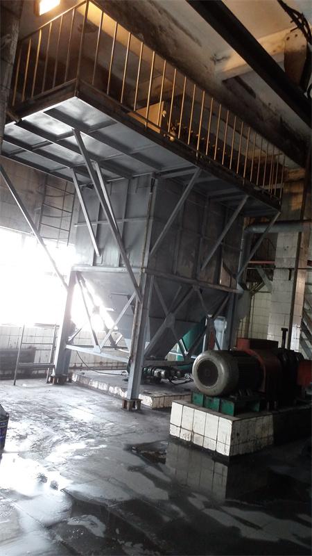 山西嶂山发电厂小集中布袋除尘器