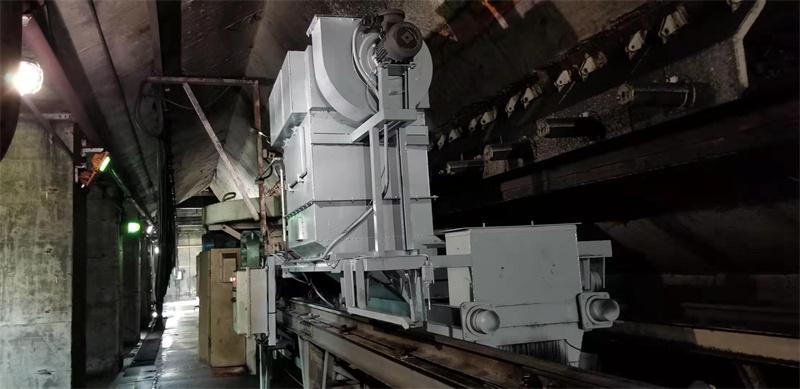 叶轮给煤机微动力除尘装置
