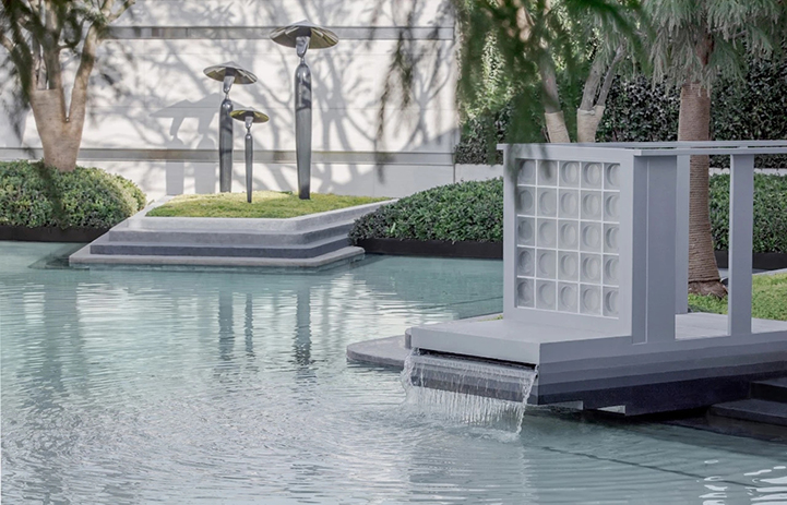 房地產樣板區雕塑