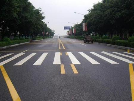 沈阳马路划线