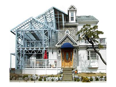 兰州钢结构别墅