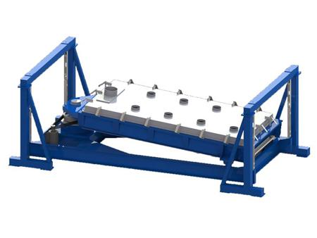 金属硅制粉专用摆筛机