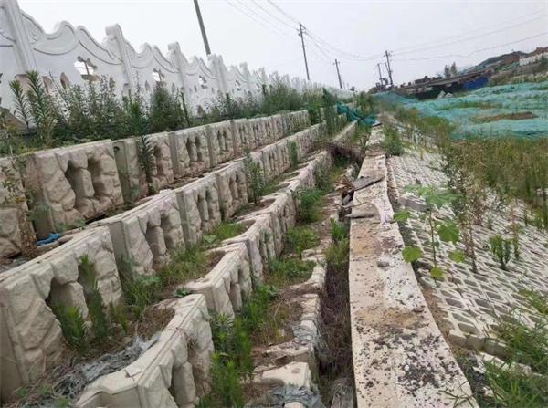 西安预制生态框安装