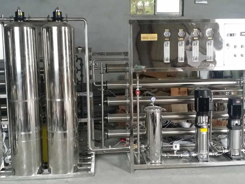 1吨/小时双级纯净水设备