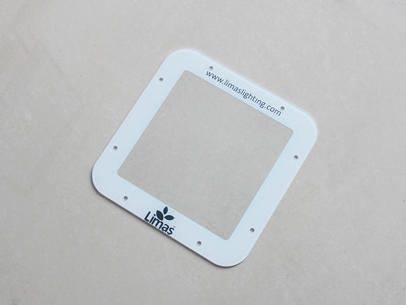 LED灯具钢化玻璃加工
