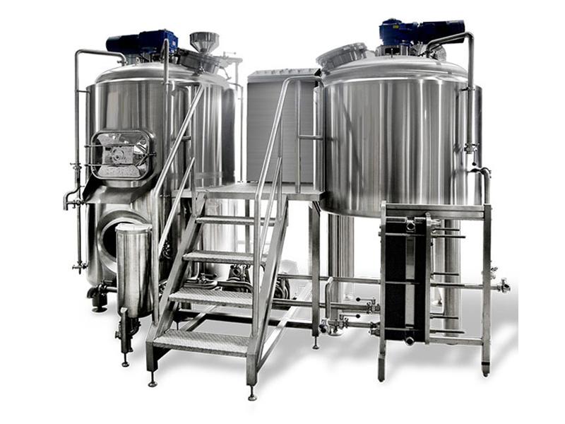 1000升自酿啤酒设备--糖化系